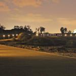 תמונה של גן אפולוניה בשעות החשיכה